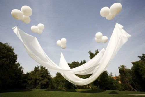Fairy Wedding Ideas: Floating Canopy